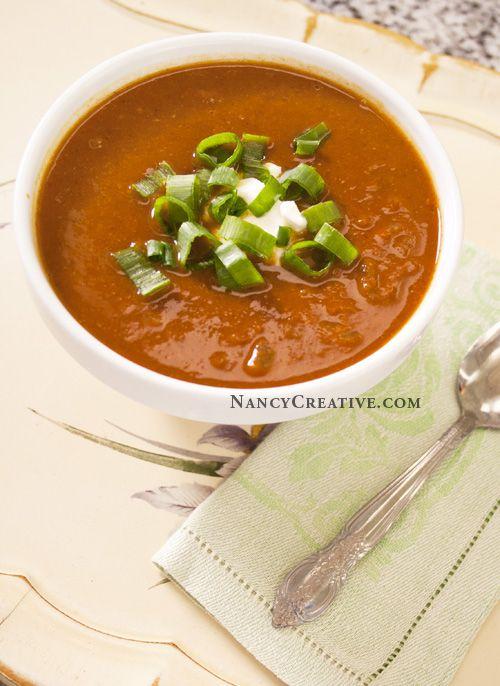 Pumpkin Black Bean Soup | Recipes | Pinterest