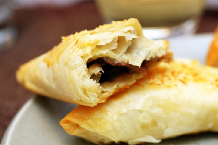 Mushroom Strudel IX Recipe | Phyllo Dough | Pinterest