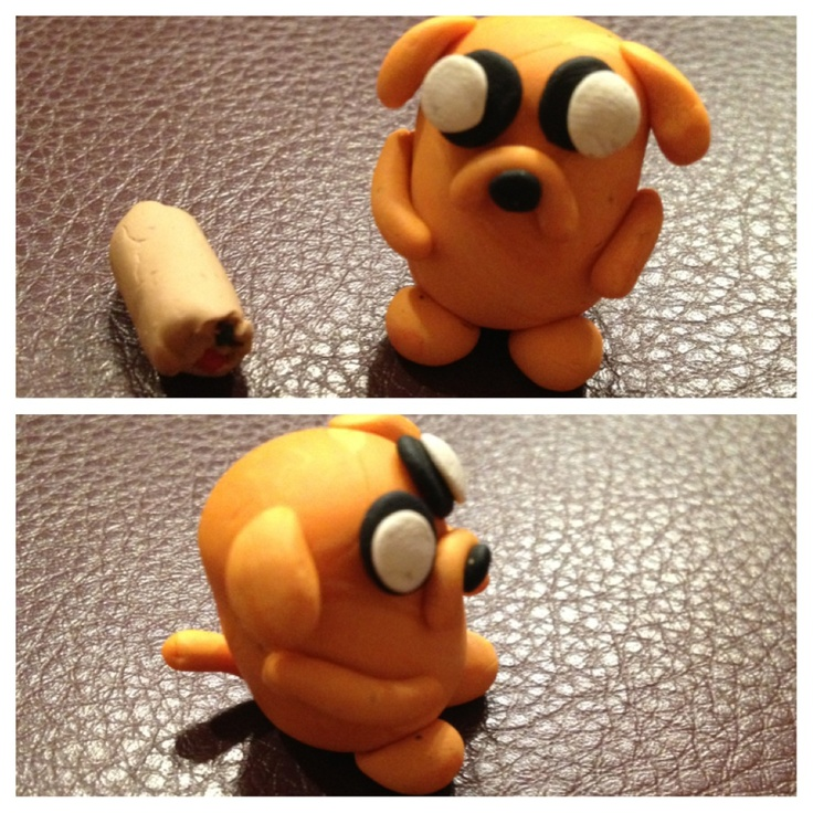 Polymer Clay Adventure Time Jake