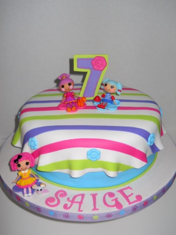 Lalaloopsy Birthday Cake  Lalaloopsy Birthday  Pinterest