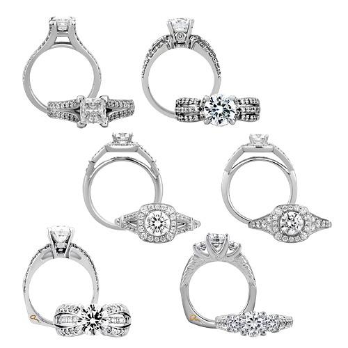 A. Jaffe bridal set collection
