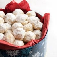 Snowball Cookies with Walnuts | Food and Drinks I Want | Pinterest