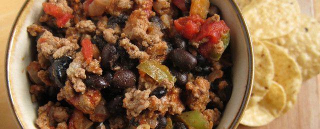 Turkey and Black Bean Chili | Soup | Pinterest