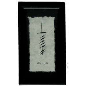 Love this ....Ogham Love Blessing Ink Pinterest