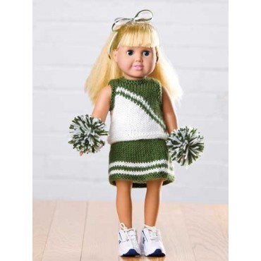 Knitting Pattern For Dolls Skirt : Pin by Superior Home Arts on 18