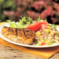 Blackened Swordfish. Love this spice mix on tilapia--one of our ...