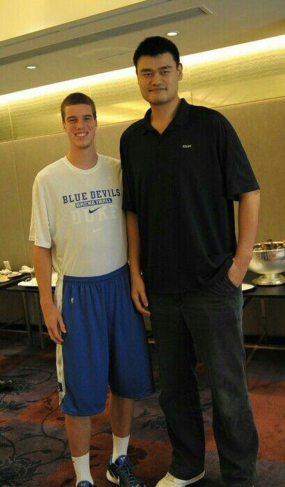 Marshall Plumlee and Yao Ming | Duke Basketball - Marshall Plumlee ...