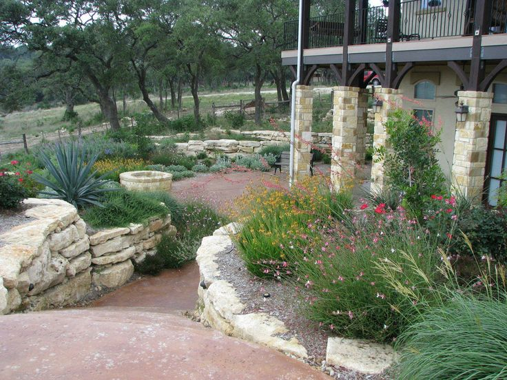 Backyard Landscaping Ideas In Texas : Central Texas Landscaping  Design Central Texas Landscaping
