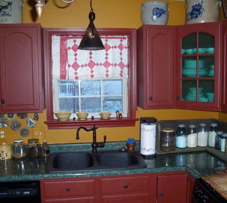 Primitive Kitchen Kitchen Designs Colonial Kitchens Pinterest
