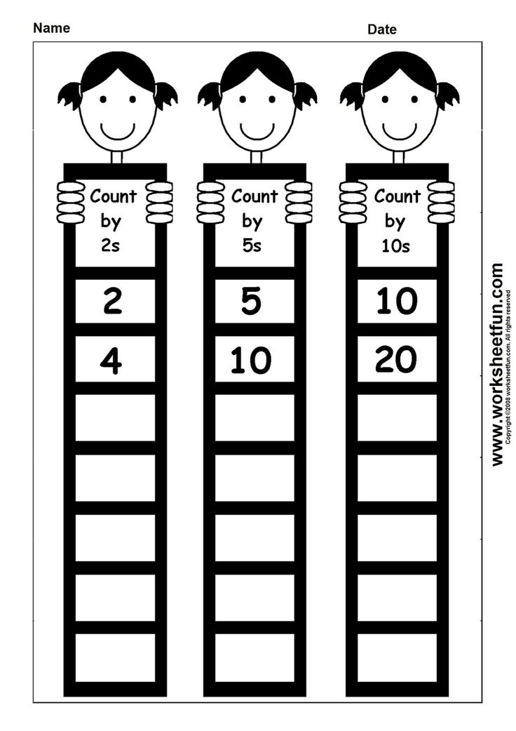 Count by 2s, 5s, 10s | Homeschooling: Math - Misc | Pinterest