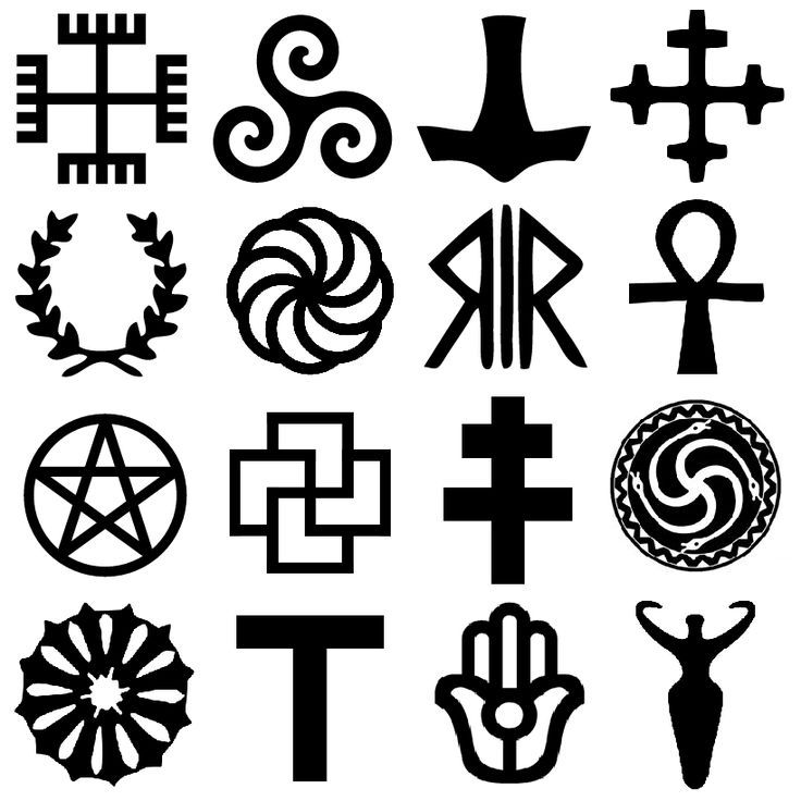 Cool Symbols And Meanings Crazywidowfo