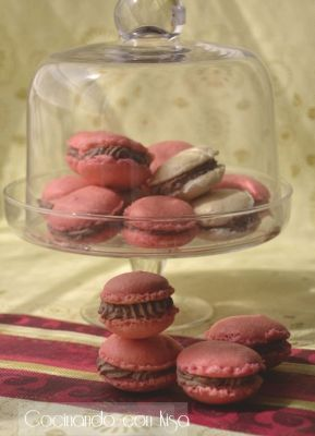 Raspberry Mousse Tartelettes And Pink Macarons Recipes — Dishmaps