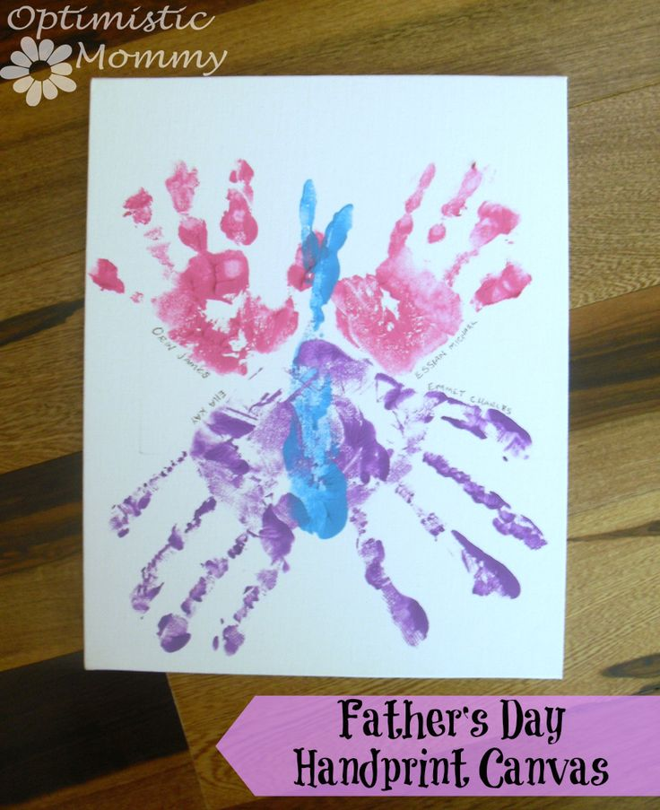 father's day handprint crafts for preschoolers