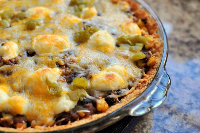 taco pie | Beef | Pinterest