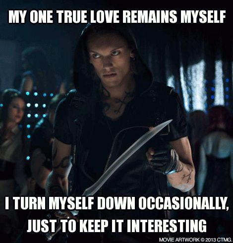 Oh, Jace. (The Mortal Instruments)