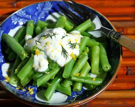 Recipe for lemon-dill yogurt sauce | Let Them Eat Cake | Pinterest