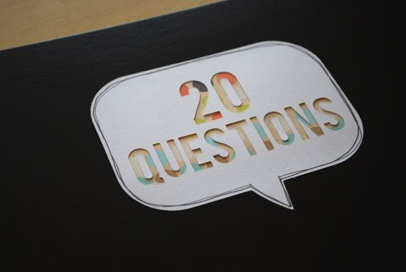 20 Questions : A Birthday Interview Album for Kids by Prompt Shop