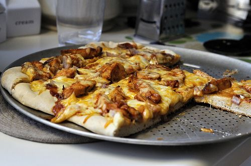 BBQ Chicken Pizza - on the grill | Tasty | Pinterest
