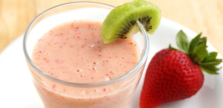 Strawberry Kiwi Smoothie | Drink Recipes | Pinterest