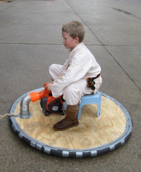 how to make a homemade hovercraft