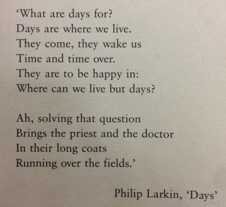 essay on the poetry of philip larkin This is the case in philip larkin's poem home is so sad without the family, the heart and soul of this home poems short stories and essays.