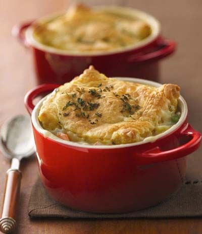 Individual Chicken Pot Pie | Main Course | Pinterest