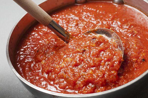 Basic Tomato Sauce by Mario Batali | stuff I like | Pinterest