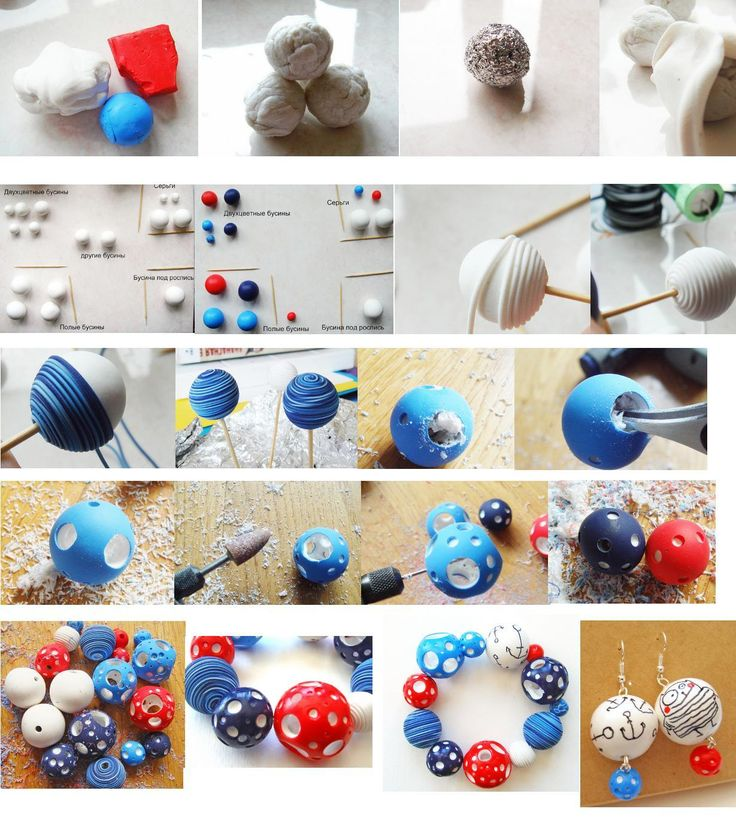 Как сделать полимерной глины своими руками 58