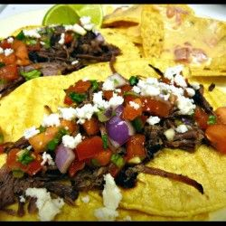 Smoked Pulled Beef Tacos | Life Tastes Good. | Pinterest
