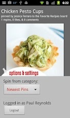 A Pinterest app for Android! Check out Spinterest that just launched.