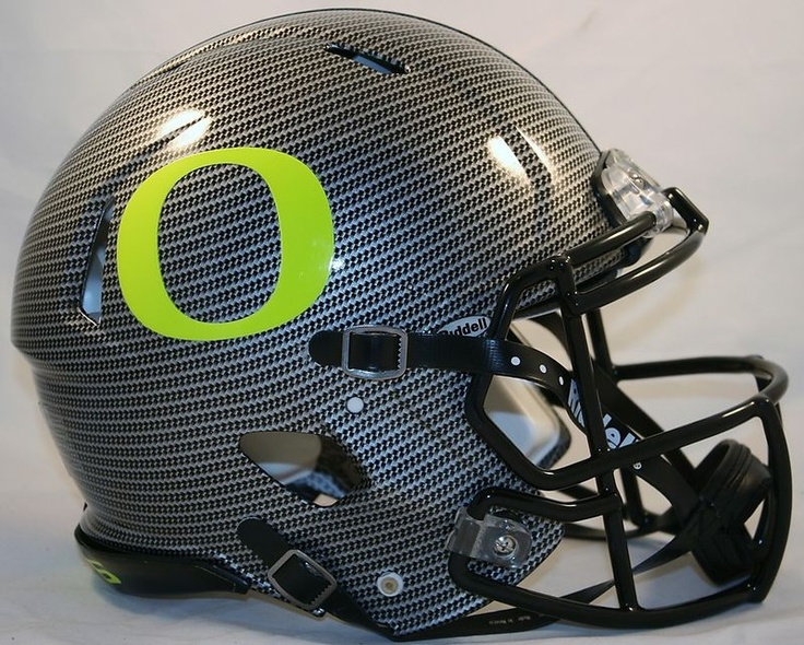 Ducks Carbon Fiber Helmet  Sweetest helmet ever  Oregon Ducks Carbon Fiber Helmet