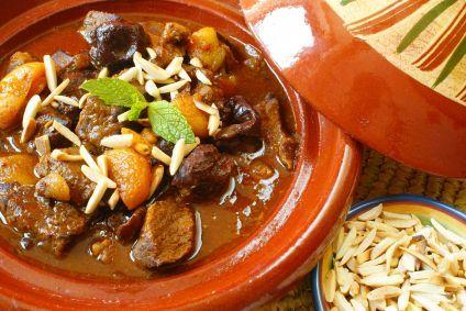 ... Moroccan Beef Stew Recipe | via @SparkPeople #food #crockpot #dinner