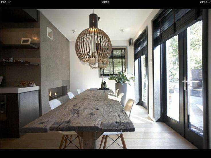 Eethoek keuken - Moderne oude keuken ...