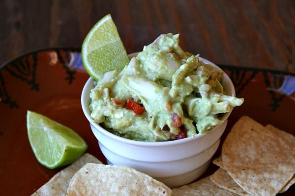 Crab Guacamole (Replace cream cheese & sour cream with Non-fat Greek ...
