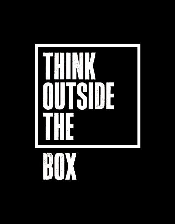 think outside the box quotes quotesgram. Black Bedroom Furniture Sets. Home Design Ideas