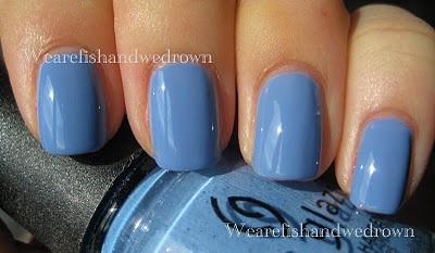 China Glaze Secret Peri-Winkle