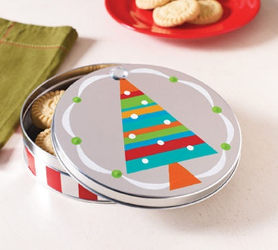 christmas cookie tins michaels
