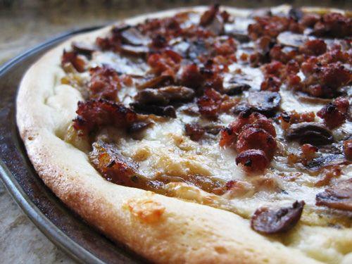 Semolina Pizza Dough recipe | Baking | Pinterest