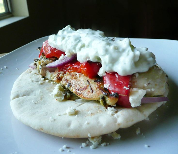Chicken Souvlaki Gyros | Recipes to Try | Pinterest