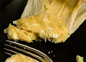 ... fresh corn, the humita is a batter of fresh corn, masa, and cheese