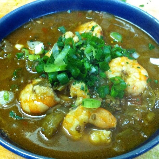 Shrimp Okra Gumbo by @Jeff Young | Soups, Chilis and Chowders | Pinte ...