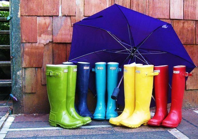 LOVE Hunter Rain Boots