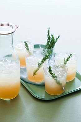 juice, rosemary simple syrup, lime juice | Table Matters // Cocktails ...
