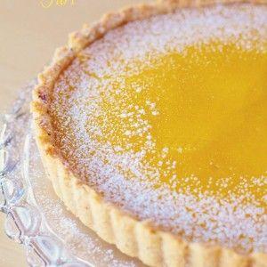 Meyer-Lemon-Hazelnut-Tart | {Nosh} Dessert | Pinterest