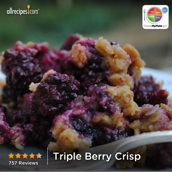 """Triple Berry Crisp 