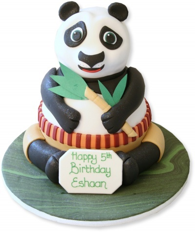 Kung Fu Panda Cake -  I am definitely not this talented!