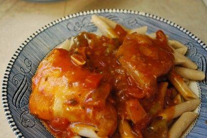 Crock Pot Chicken Cacciatore | Recipe