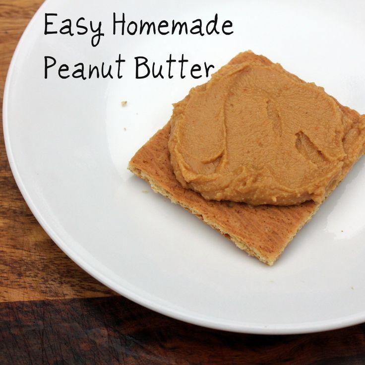 DIY Simple Peanut Butter Recipe — Dishmaps