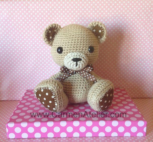 Amigurumi Beard : Amigurumi Bear Amigurumi Pinterest
