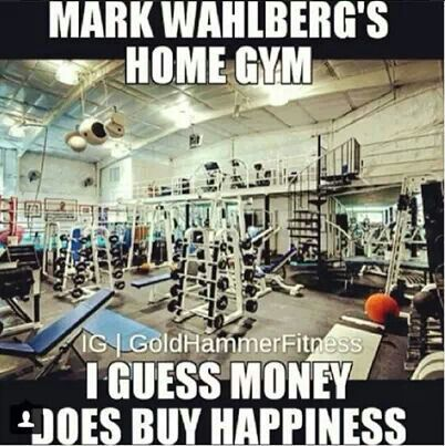 Images about gym s design on pinterest home gyms a gym and search - Mark Wahlberg Home Gym Fitness Motivation Pinterest